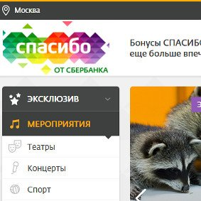 Website creation Thank you from Sberbank by Extyl-PRO